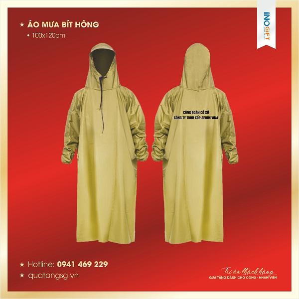 Bảng báo giá áo mưa quà tặng doanh nghiệp giá rẻ tại INOGIFT SG | quatangsg