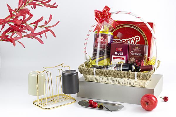 Giỏ quà tết - quà mừng khai trương cho khách hàng, đối tác, doanh nghiệp độc đáo ý nghĩa
