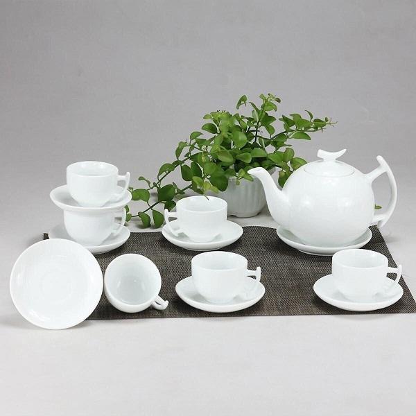 Bộ ấm trà gốm sứ